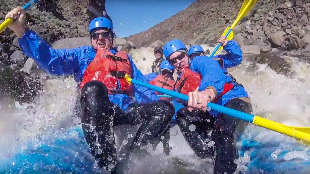 Opening Day - Taos Box River Rafting Trip