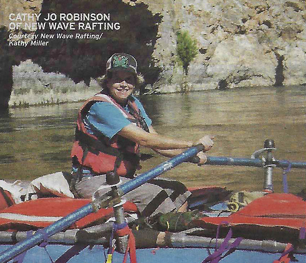 Cathy Jo Robinson - New Wave Rafting Guide