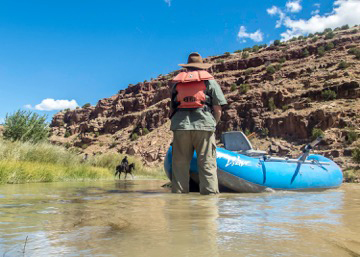 """River Safety for the re-make of """"The Magnificent Seven"""""""