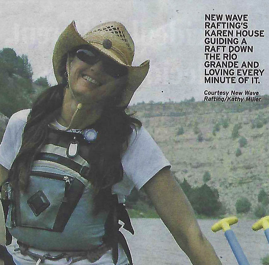 Karen House - New Wave Rafting Guide