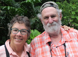 Kathy and Steve Miller, 2018, Costa Rica