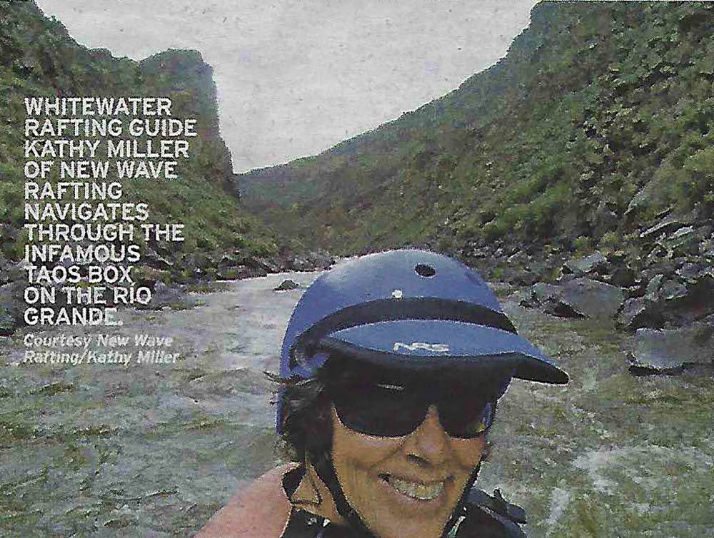 Kathy Miller - New Wave Rafting Guide And Founder