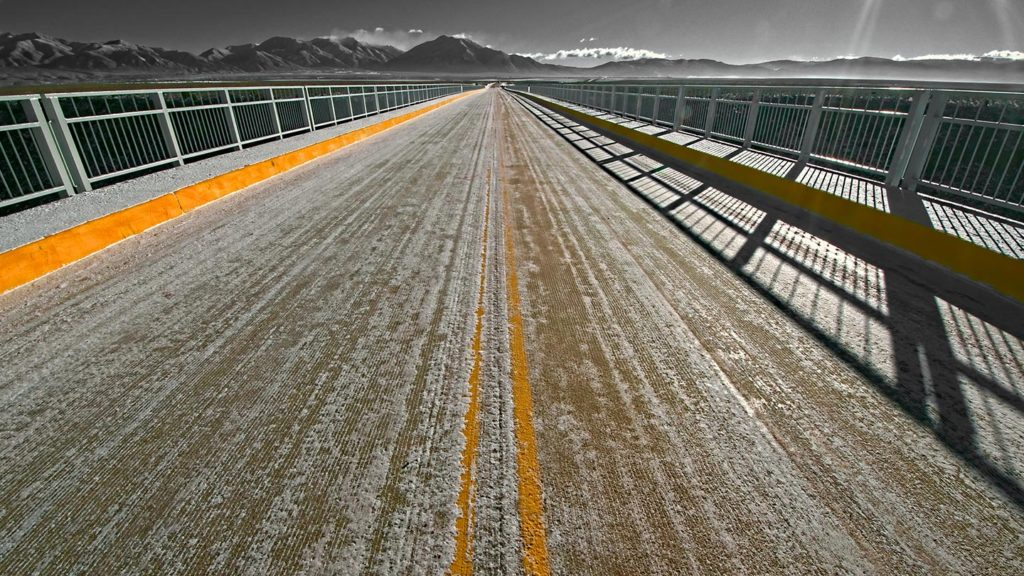 Rio Grande Gorge Bridge - New perspective of the Rio Grande Gorge Bridge